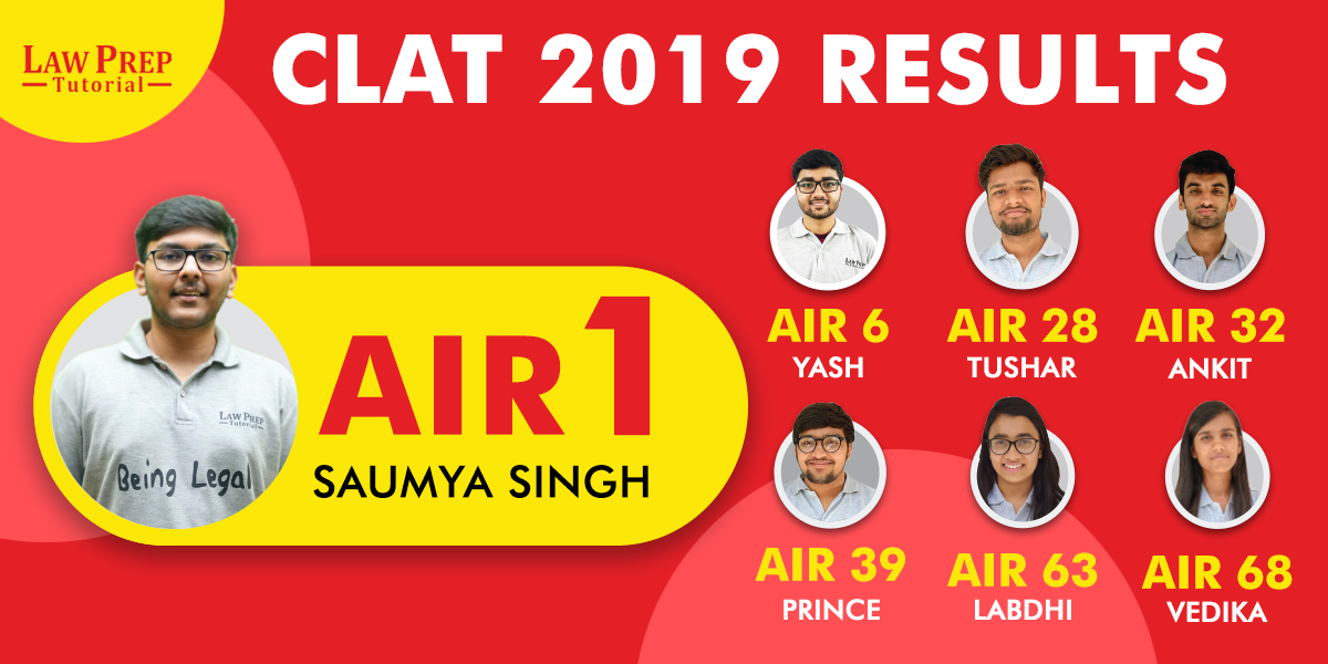 Law Prep CLAT 2019 results