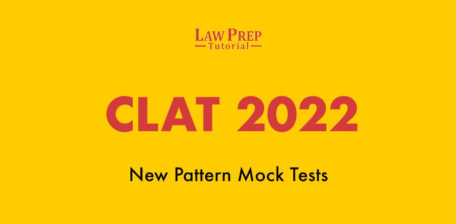 CLAT 2022 mock test