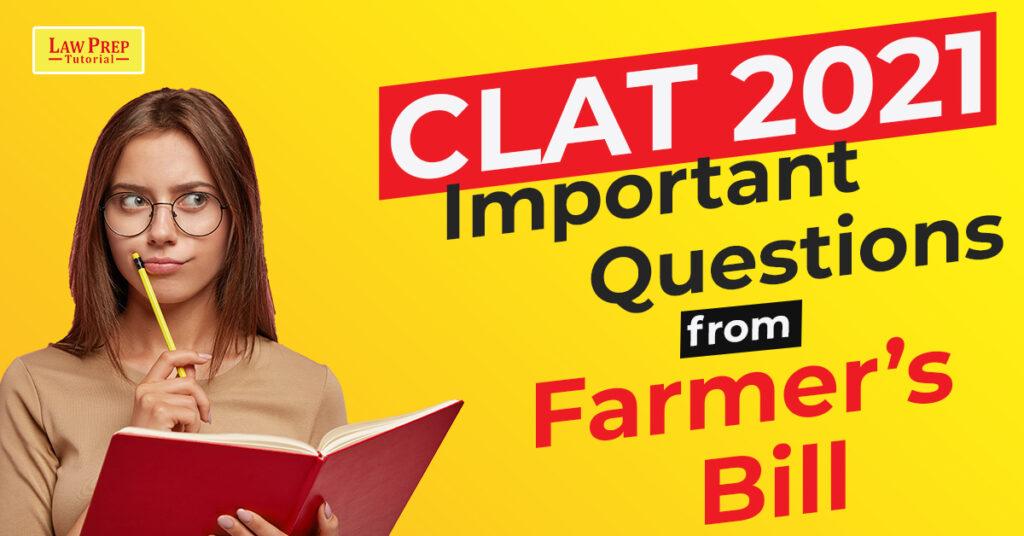 CLAT 2021 Important Questions