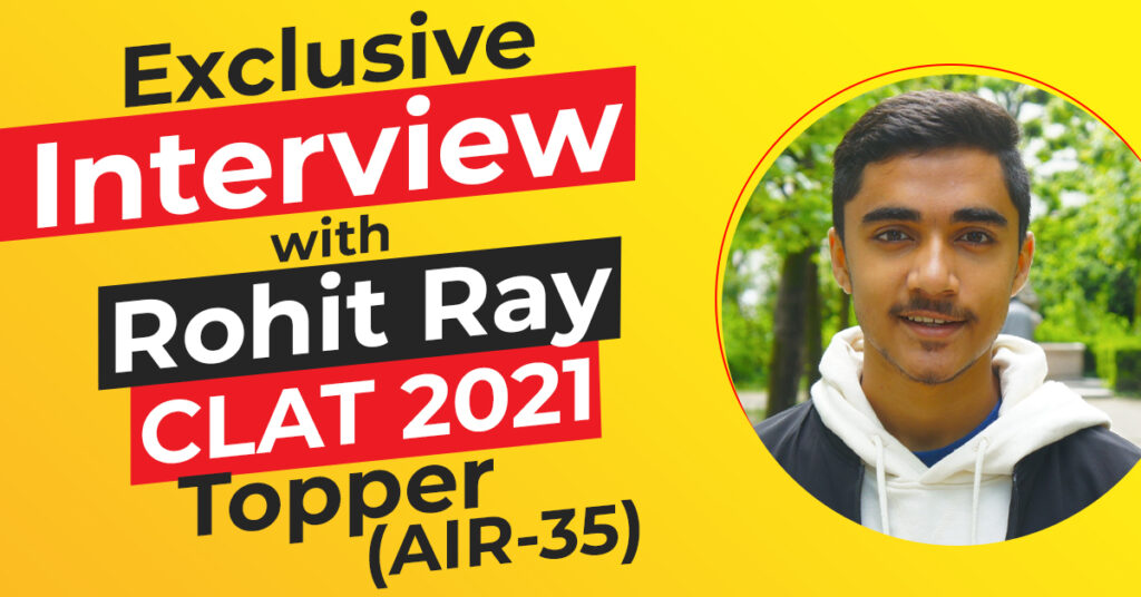 Exclusive Interview with Rohit Ray